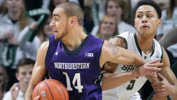 Tre Demps scored 17 points in Northwestern's near-upset of Michigan State last year at Breslin Center.
