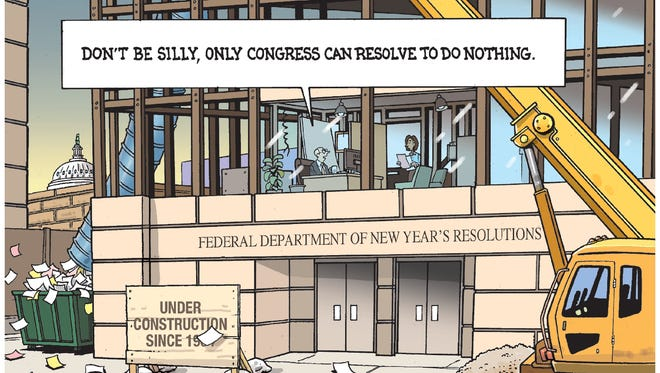 Department of New Year Resolutions