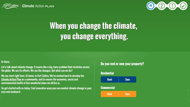 The city of Fort Collins just launched an interactive website designed to better connect resident with its climate-related programs.