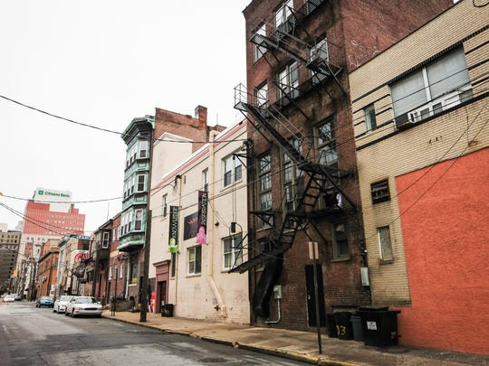 Buildings along Shipley and West Seventh streets are parts of the area the Wilmington Resnaissance Corp., is recommending to revitalize.