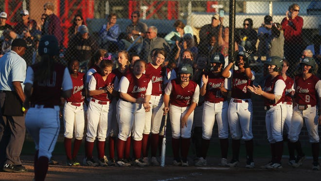 Ouachita hit four home runs in a 13-0 rout of Thibodaux in five innings on Monday at Lady Lion Field.