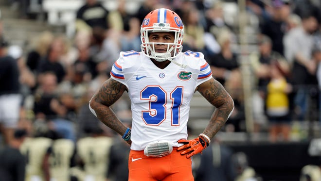 The 6-foot, 199-pound Teez Tabor was a shutdown corner at Florida, holding quarterbacks to a 41.2 passer rating over three seasons, according to Pro Football Focus.