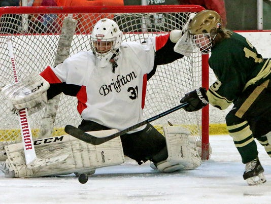 Brightons Goalie Jimmy Milletics comes up with a big save against Howells Hi.jpg