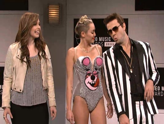 Miley Cyrus on 'Saturday Night Live'