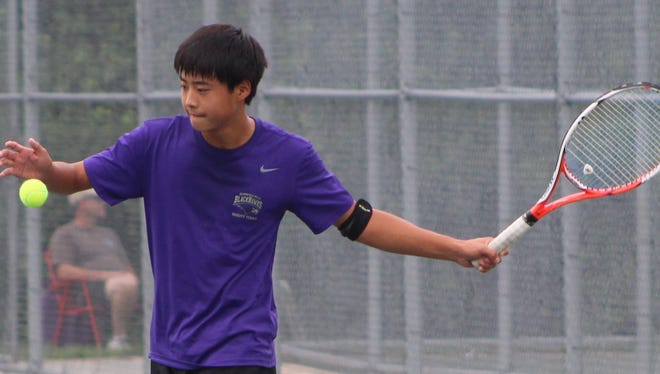 Bloomfield Hills' Andrew Zhang enters the state tournament as a favorite to win at the No. 1 singles flight.