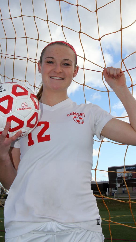 Somers' Hannon Eberts is the Westchester/Putnam Girls Soccer Player of the Year.