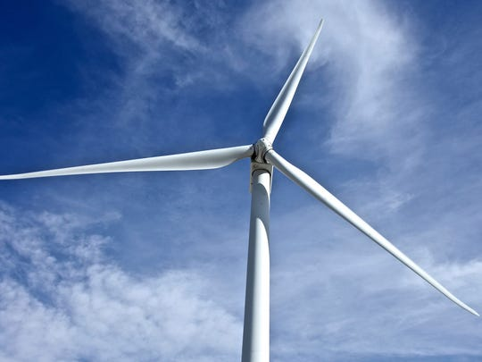 The Palm Springs Windmill Tours in Palm Springs, Calif.,
