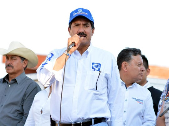 Javier Corral, PAN party candidate for Chihuahua governor
