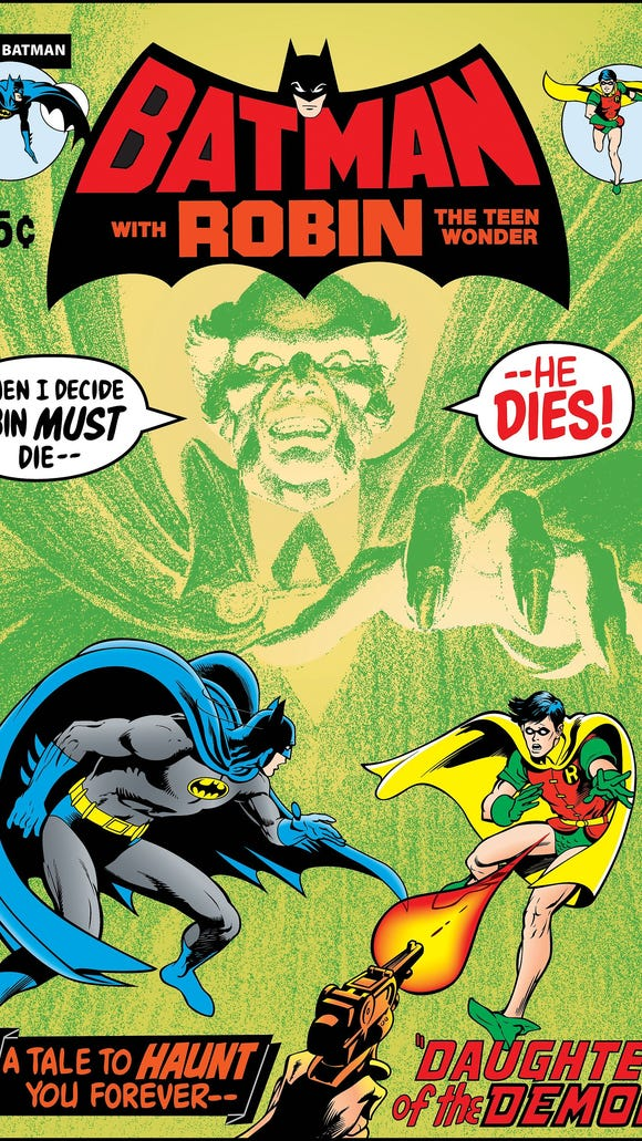 Here's the cover to Batman No. 232 from 1971 introducing Ra's al Ghul.