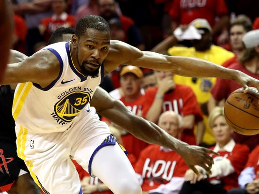 Golden State Warriors v Houston Rockets - Game One