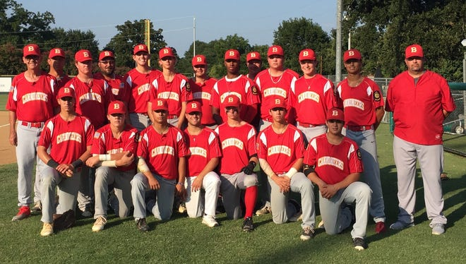 The Post 8 Cannoneers is an American Legion baseball team based in Ballinger. The team includes players from eight high schools in the West Texas area. The Cannoneers lost to defending champion League City at the state tournament in Brenham on Friday.