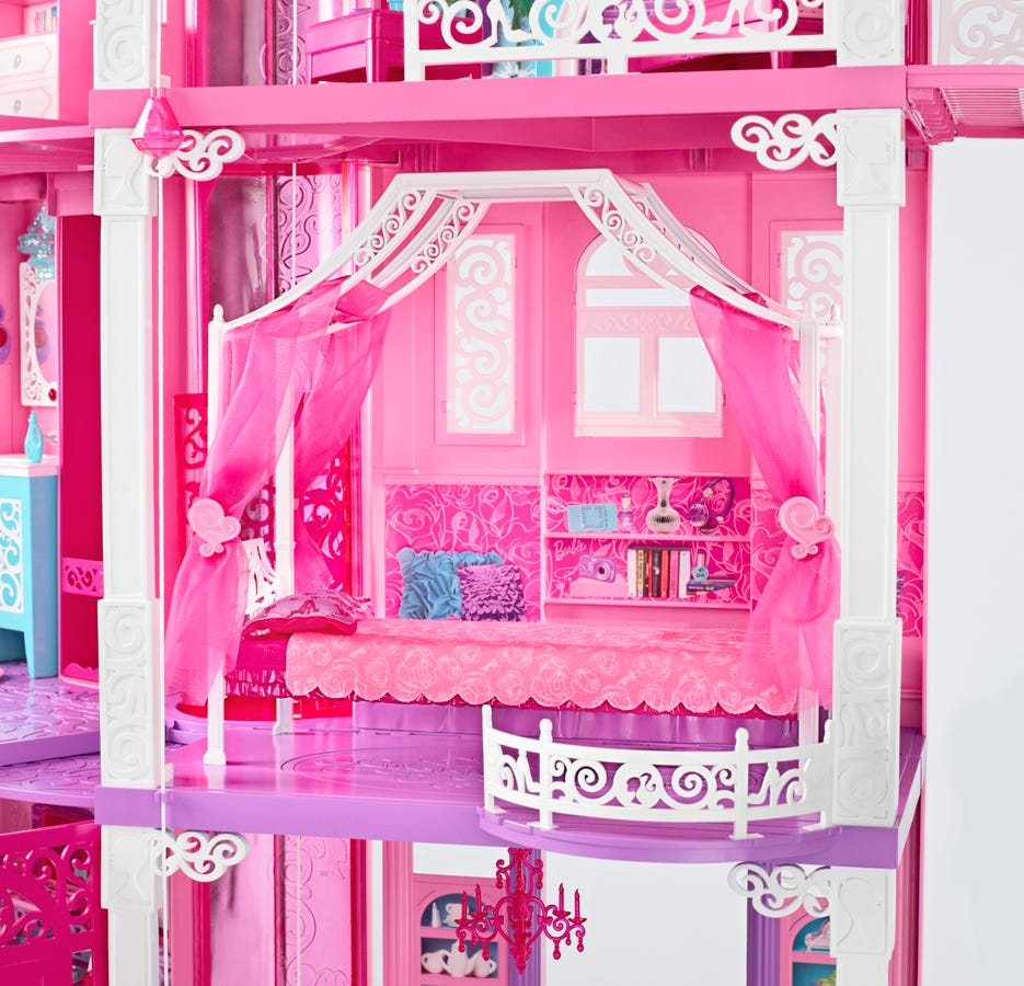 That's A Lotta Pink: Peek At Barbie's New Dreamhouse