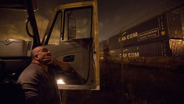 How trucking companies forced drivers into debt, worked them past exhaustion and left them destitute