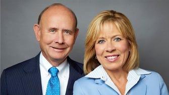 Tom Cooney and Crystal Faulkner