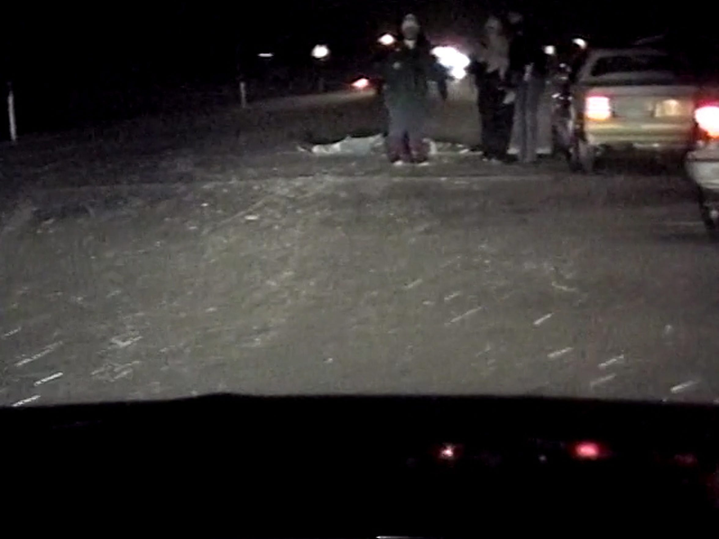 Video footage taken by a Manitowoc County Sheriff's