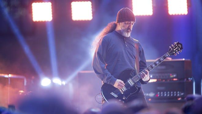 Guitarist Kim Thayil of Soundgarden.