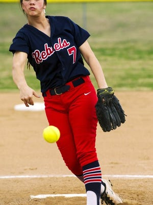 Tipton-Rosemark senior Rachel Whitley, the reigning Commercial Appeal Player of the Year, takes an 11-4 record into this week's Division II-A state softball tournament in Murfreesboro.