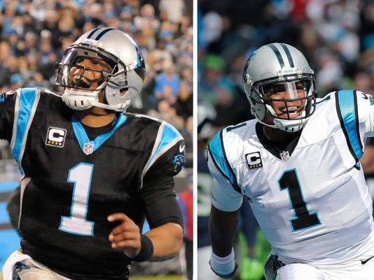 Panthers Newton Demeanor Football