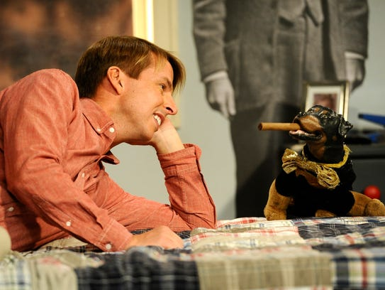Jack (Jack McBrayer) is reunited with Triumph, his