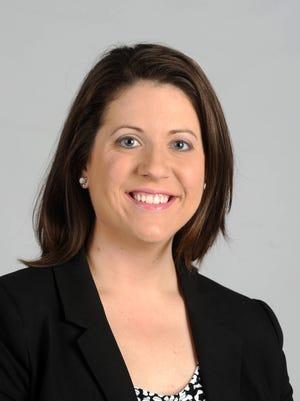 Emily Scheuneman, class of 2016 40 under 40 honoree.