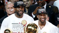 LeBron James and Dwyane Wade had a fruitful four-year