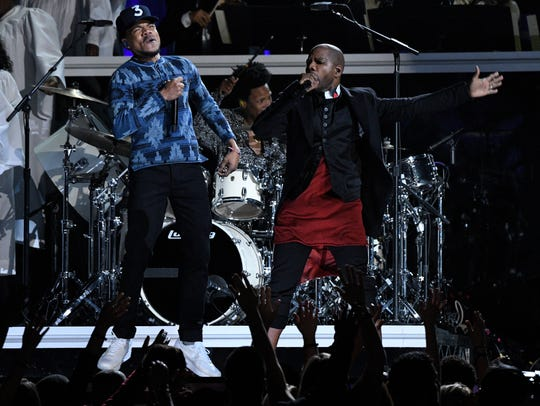Chance the Rapper with Kirk Franklin