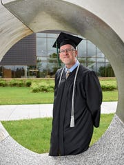 Pete Barrett graduated Friday with a nursing degree from St. Cloud Technical & Community College in St. Cloud. He works at St. Cloud VA Health Care System.