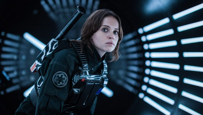 "Felicity is Jonesing for action in ""Rogue One."""