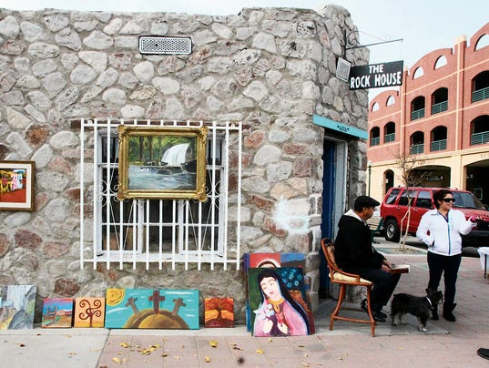 Rock House Cafe And Gallery El Paso