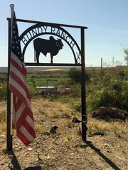 The Bundy ranch in Bunkerville, Nev., is 70 miles northeast