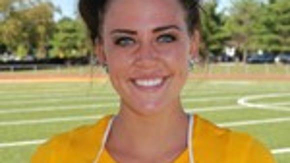 Johanna James is a field hockey standout at Rowan (Rowan SID)