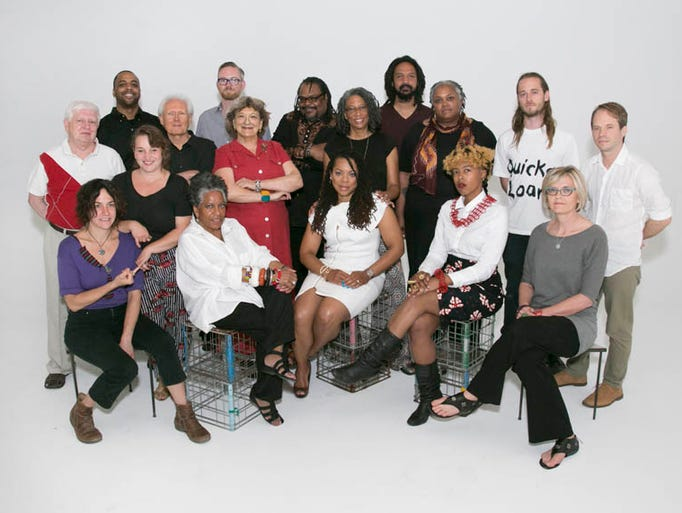 Sixteen metropolitan Detroit artists and two collectives