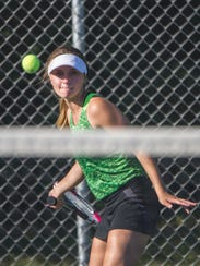 Greendale''s Jenna Hutchinson played third singles