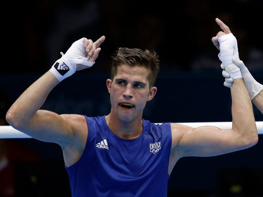 In this Aug. 3, 2012 photo, France's Alexis Vastine