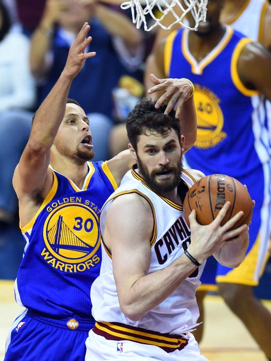 Kevin Love Stephen Curry