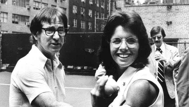 The anniversary of the Bobby Riggs and Billie Jean King Battle of the Sexes is Sept. 20.