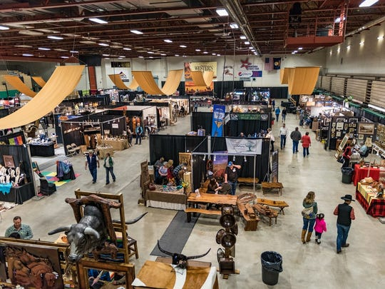 Last year's show floor for the Great Western Living and Design Show. This year's show will take place from March 15-18.
