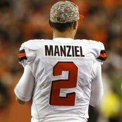 Browns QB Johnny Manziel.