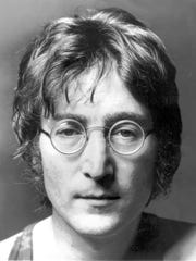 John Lennon is shown in this undated portrait.