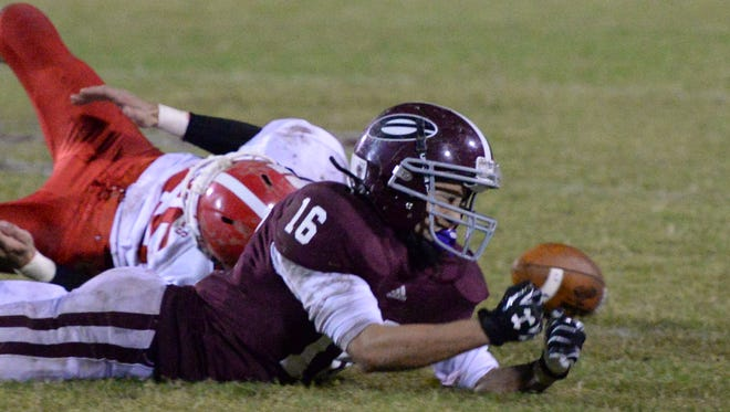 Eagleville's Jacob Acuna (16) is second on the team in receiving.