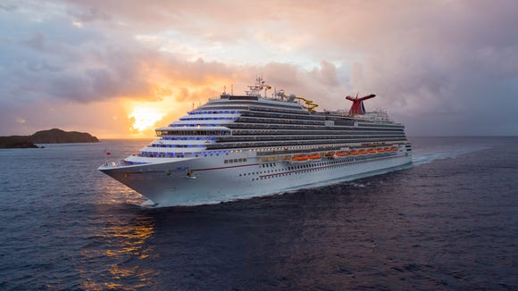 Carnival Breeze, built by Carnival Cruise Lines in