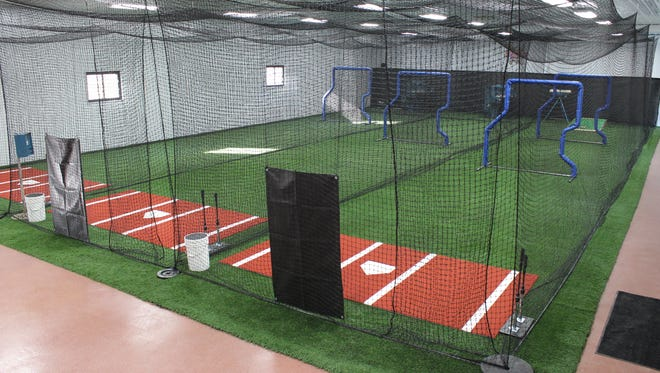 The inside of Slugger Sports Center, located on 8784 Folkert Rd. in Algonac.