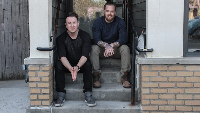 Daniel Beres (left) and Tripper Duval are opening a new bar, The Lost Whale, in the former Boone & Crockett space at 2151 S. Kinnickinnic Ave.