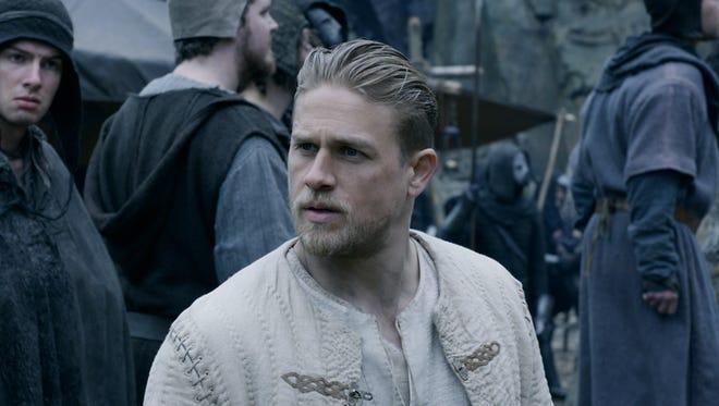 "Charlie Hunnam is Arthur in ""King Arthur: Legend of the Sword."""