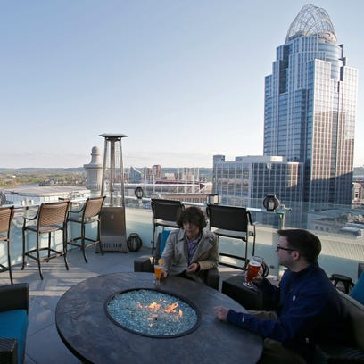 Top of the Park, the rooftop terrace at the Marriott