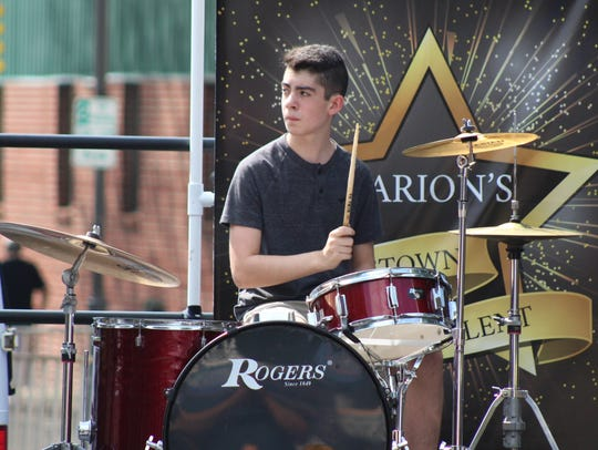 Jesse Flint is the drummer for TwoThirds & a Ghost,