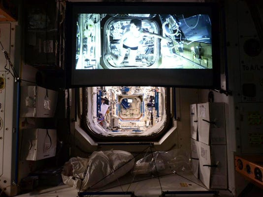 Space Station Big Screen