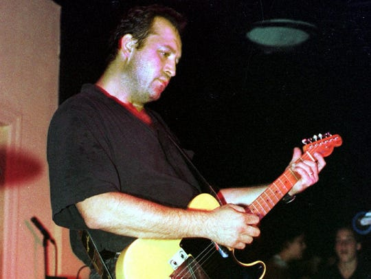 Jim Babjak in a classic shot at the Stone Pony in Asbury