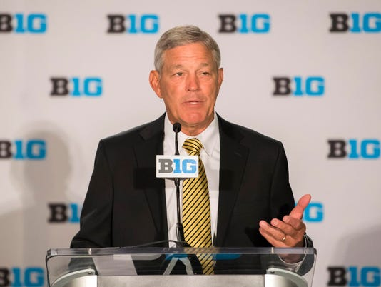 NCAA Football: Big Ten Football Media Day