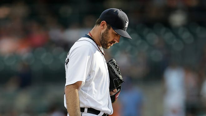 For the sixth time in his last 7  starts, Justin Verlander gave up at least five earned runs.